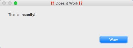 A working Emoji variable
